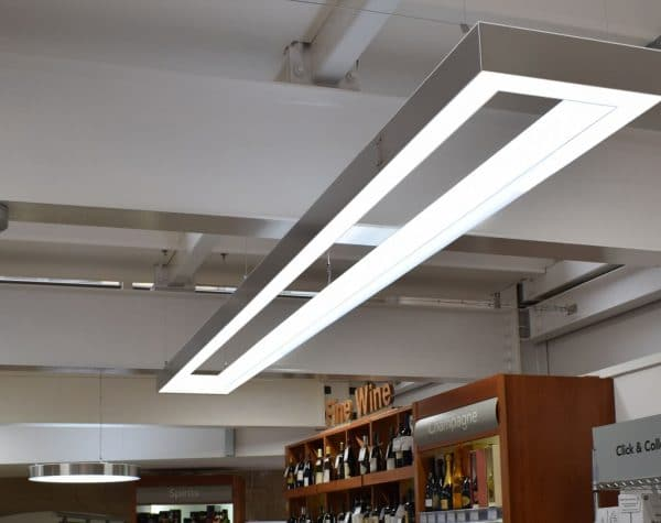 Lighting for retail outlets