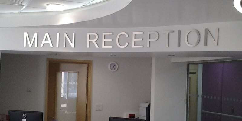 Internal signage